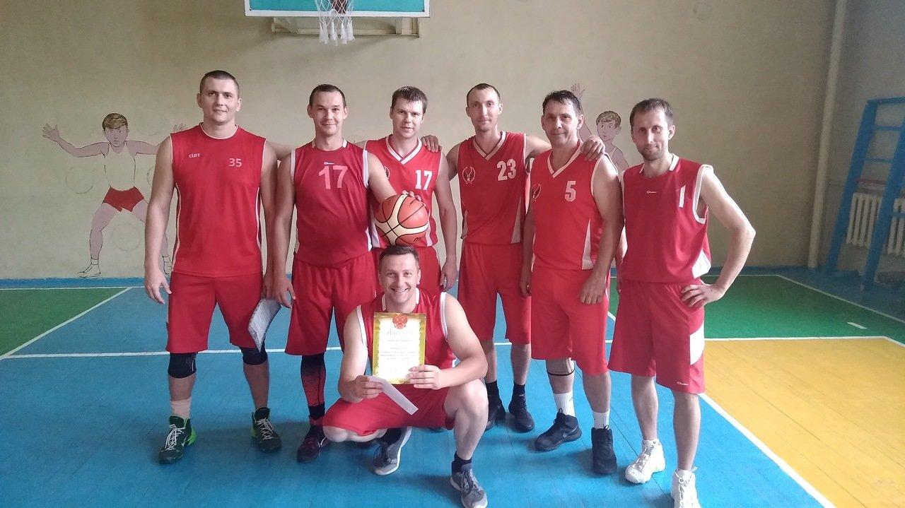 Чемпионы по баскетболу