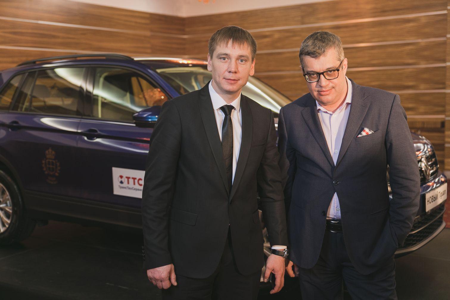Генеральный директор Эдуард Гумеров и Максим Поташев