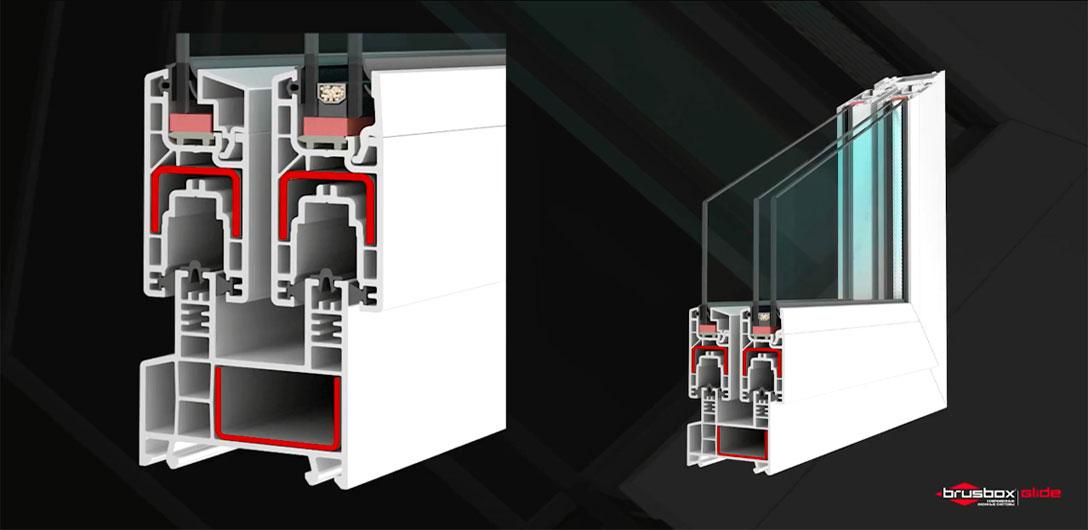 Сборка конструкции из системы BRUSBOX GLIDE