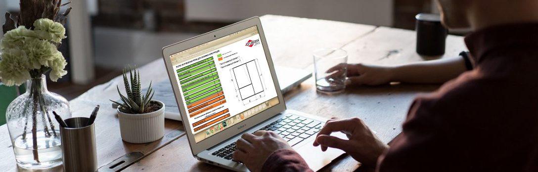 Программа расчета стандартных оконных конструкций